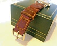 Vintage Tissot (omega) Jubileum Wrist Watch 1953 16 Jewel Stainless Steel Case Fwo (12 of 12)