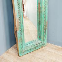 Painted Teak Mirror (4 of 6)