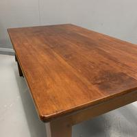 French Cherrywood Coffee Table with Drawers (4 of 5)