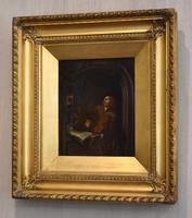 Pair of Oil Paintings after Gerrit Dou (6 of 9)