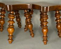 Pair of Lace Makers Candle Stools (4 of 6)