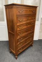 18th Century French Fruitwood Tall Chest of Drawers (3 of 18)