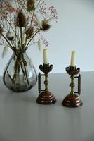 Pair of Christopher Dresser Arts & Crafts Candlesticks (5 of 9)