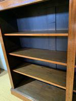 Edwardian Inlaid Open Bookcase (6 of 11)