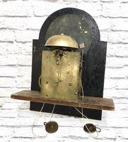 Painted Pine Cornish Longcase Clock (9 of 11)