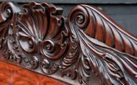 Superb Regency Mahogany Cabinet / Cupboard / Chiffonier c.1820 (6 of 8)
