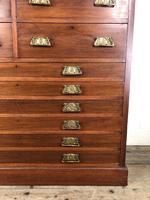 Large Edwardian Mahogany Bank of Drawers (10 of 17)