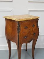 Beautiful Bombe shaped Bedside Cabinets c1930 (7 of 9)