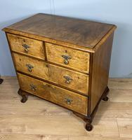 Attractive Walnut Chest of Drawers (5 of 7)