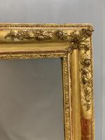 Large French gilt overmantle mirror (2 of 7)