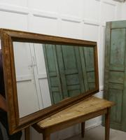 19th Century Large French Shabby Gilt Mirror (8 of 8)