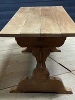 Smaller French Farmhouse Bleached Oak Dining Table (14 of 17)