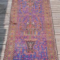 2.8m Long Antique Persian Runner Rug (9 of 10)