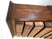 Early 19th Century Oak Secretaire Tallboy Chest on Chest (6 of 17)