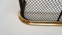 Early Victorian Brass & Wire Fire Guard / Fender (6 of 7)