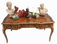 French Bureau Plat Antique Desk Writing Table Empire (2 of 13)