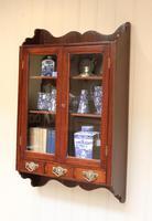 Mahogany Glazed Wall Cabinet (3 of 10)
