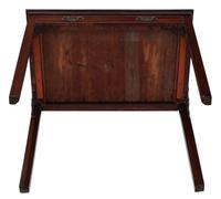 Georgian C1800 Cuban mahogany writing side table desk (2 of 8)
