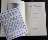 1933 1st Edition The Empty Quarter Description  of the Great South  Desert of Arabia  Known as Rub Al Khali by  H. St. J. B. Philby (2 of 5)