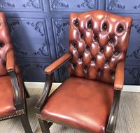 Gainsborough Style Desk Chairs c.1930 (3 of 11)
