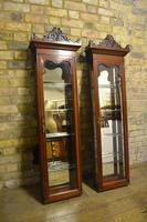 Pair of Victorian Jeweller's Wall Cabinets (10 of 10)