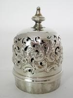 Decorative Victorian Lighthouse Shaped Silver Sugar Caster (3 of 5)