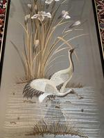Japanese Embroidery of Cranes (14 of 16)