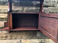 Antique Mahogany Wall Cabinet (5 of 10)