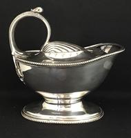 Late 19th Century Silver Plated Spoon Warmer