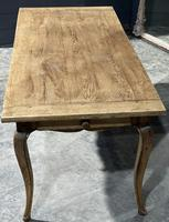 French Oak Farmhouse Kitchen Dining Table (14 of 18)