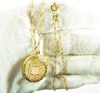 Antique 9ct Gold Hallmarked Photo Locket 1915 (6 of 8)