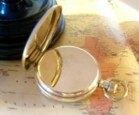 Antique Omega Labrador Pocket Watch 1912 15 Jewel 10ct Rose Gold Filled Case FWO (7 of 12)