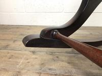 Brown Leather Chesterfield Style Rocking Chair (9 of 15)