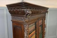 Imposing Carved Oak Bookcase (20 of 23)
