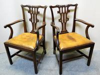 Set of 10 Mahogany Dining Chairs (6 of 7)