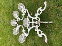 Victorian 19th Century Garden Cast Iron 6 Branch Plant Stand Coalbrookdale Style (11 of 27)