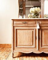 French Antique Washstand / Sideboard / Cupboard Vanity with Marble (7 of 7)