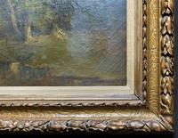Antoine Chintreuil Fine 19th Century French Barbizon Landscape Oil Painting (9 of 13)