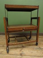 Vintage Metamorphic Oak Tea Trolley Table by Besway (13 of 18)