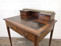 Antique Edwardian Mahogany Bonheur Du Jour Desk (7 of 15)