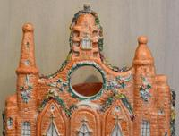 Very Large Staffordshire Flat Back Church Watch Holder (2 of 6)