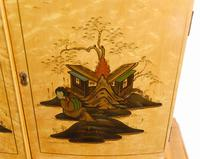 Art Deco Drinks Cabinet Chinoiserie Vintage Cocktail 1930 (5 of 18)