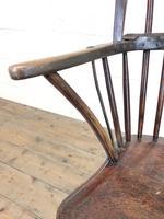 19th Century Elm & Ash Windsor Chair (7 of 11)