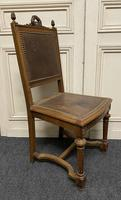Set of 10 French Walnut Dining Chairs (9 of 15)