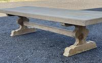 Huge French Bleached Oak Farmhouse Dining Table (5 of 34)