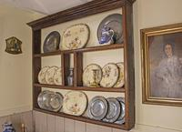 18th Century Georgian Oak Delft Rack - Wall Hanging Plate Rack (7 of 11)