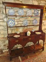 Georgian Oak Sussex Dresser with Rack (11 of 11)