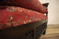 Early 20th Century Moorish Rosewood Window Seat - Bench (2 of 11)