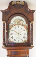 Fine English Longcase Clock John Fenton Congleton 8-day Striking Grandfather Clock Solid Mahogany Case (10 of 16)