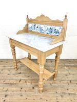 Antique Pine & Marble Washstand (7 of 10)